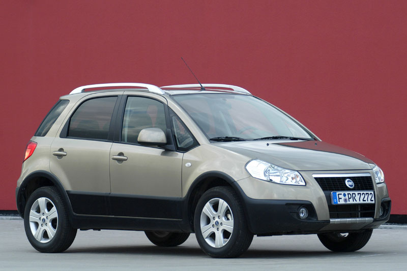 Fiat sedici 2007 photo - 2