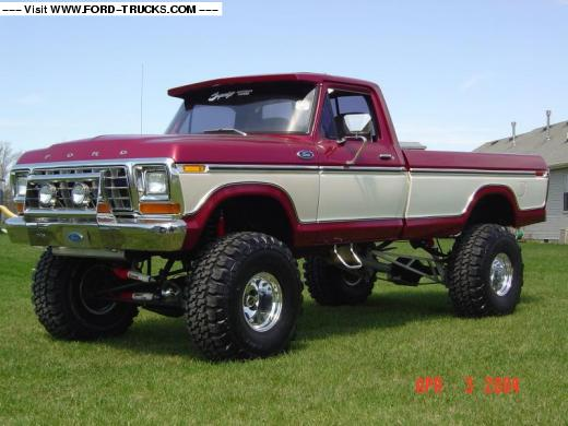Ford 4x4 1979 photo - 8