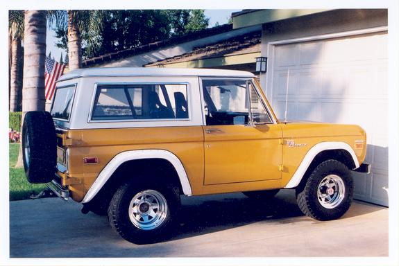 Ford bronco 1970 photo - 2