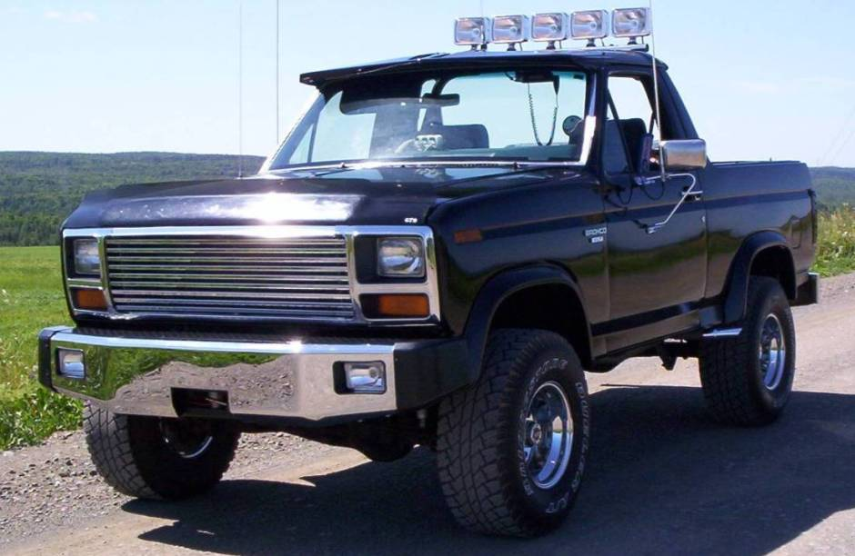 Ford bronco 1984 photo - 10