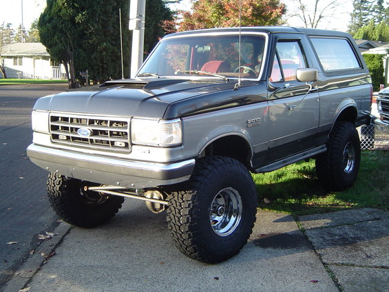 Ford bronco 1988 photo - 8