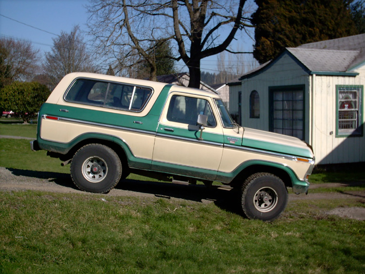 Ford bronco 1989 photo - 3