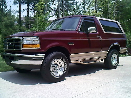 Ford bronco 1996 photo - 2