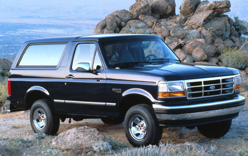2004 Ford Bronco Concept – Blue Oval Trucks
