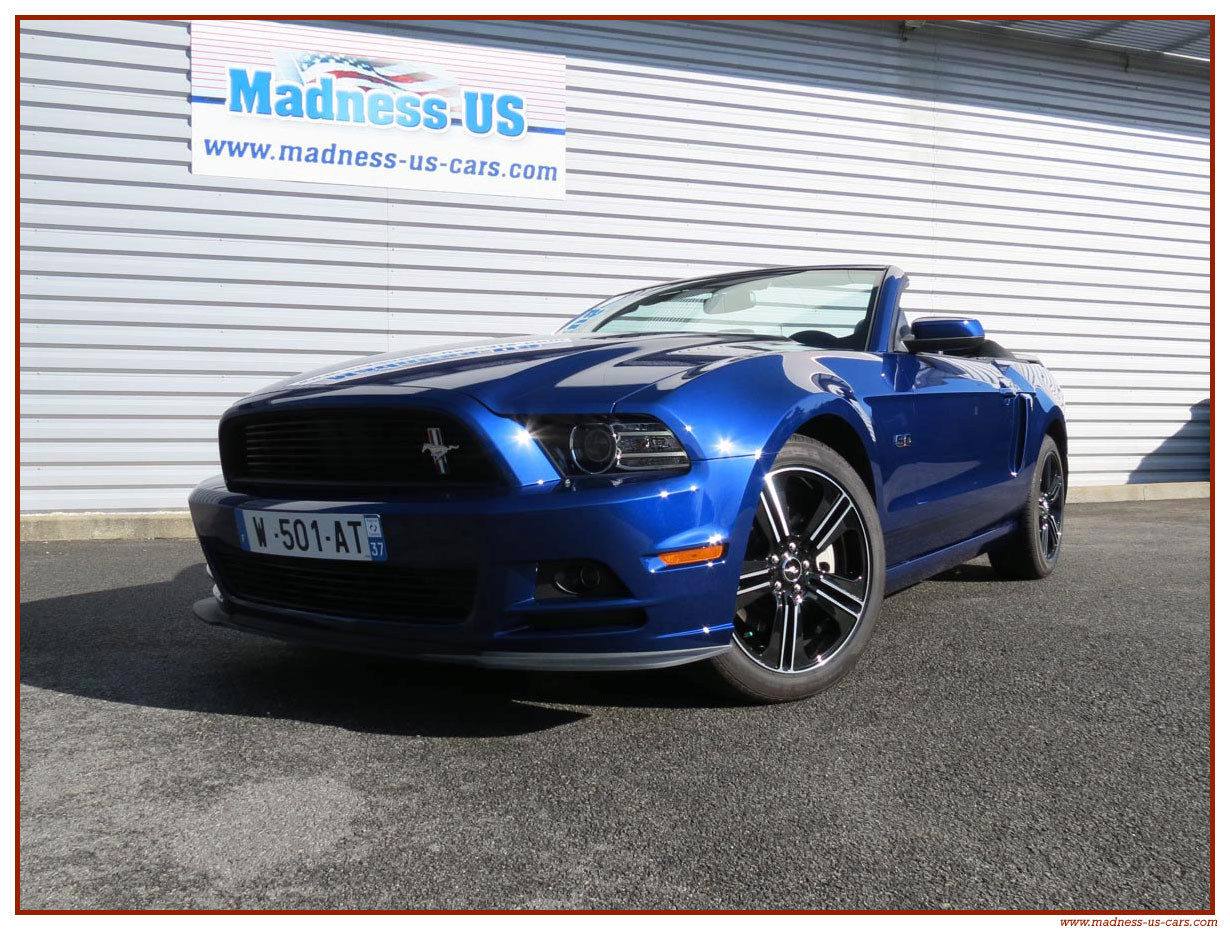 Ford cabriolet 2014 photo - 1