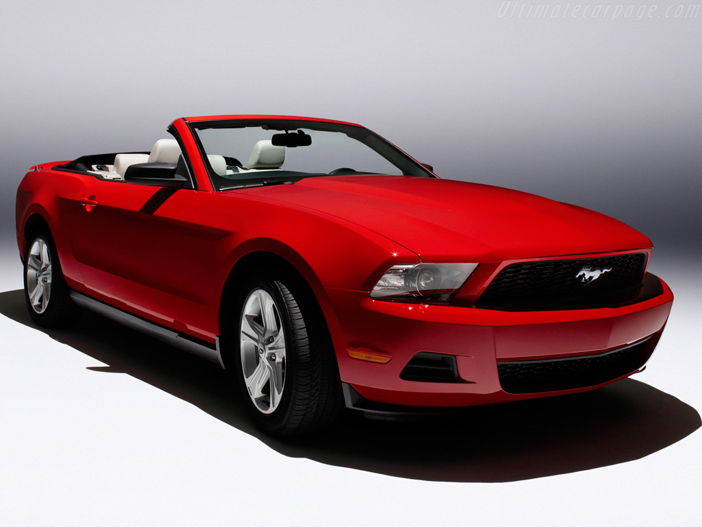 Ford cabriolet 2014 photo - 10