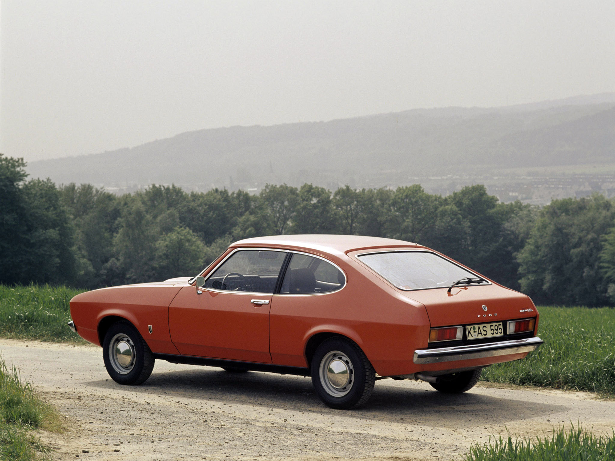 Ford Capri 1974 photo - 4