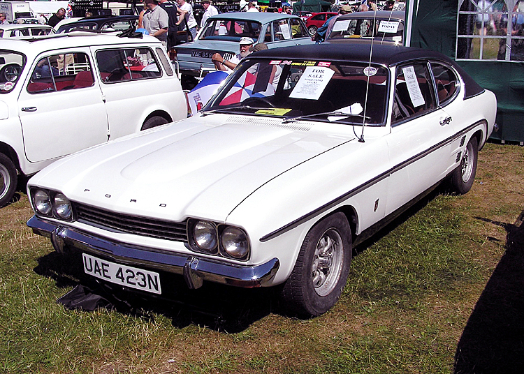 Ford Capri 1974 photo - 6