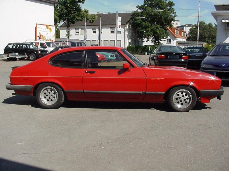 Ford capri 1981 photo - 10