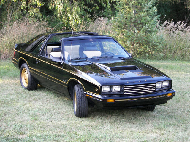 Ford capri 1981 photo - 2