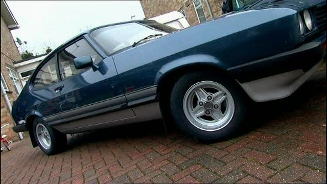 Ford capri 1985 photo - 7