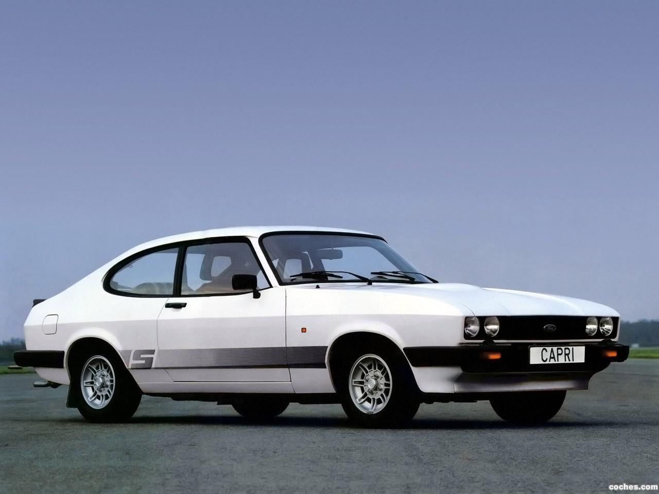 Ford capri 1987 photo - 3