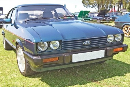 Ford capri 1987 photo - 4
