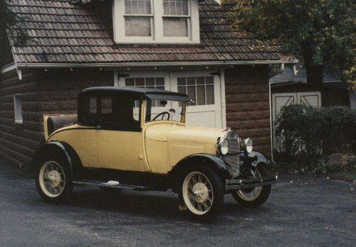 Ford coupe 1929 photo - 4