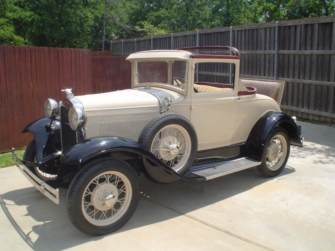 Ford coupe 1930 photo - 7