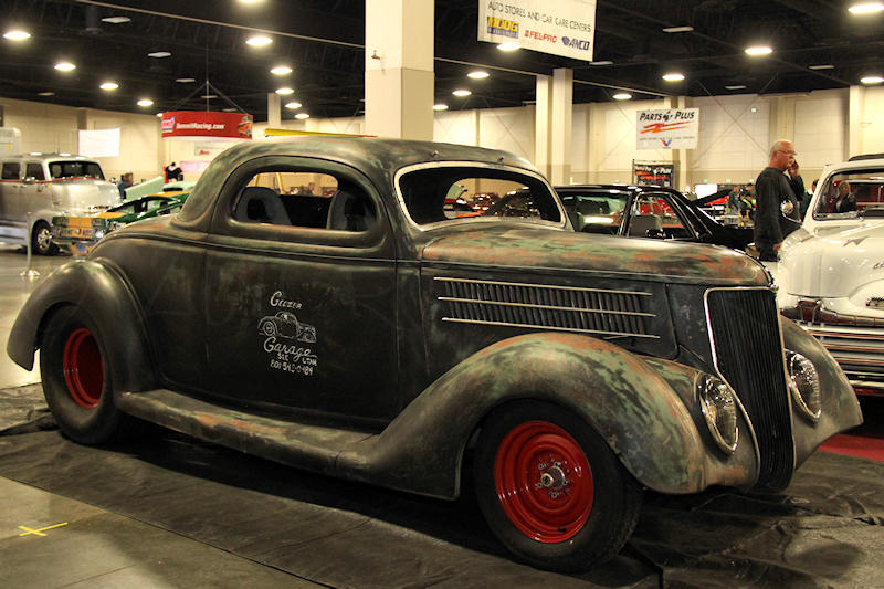 Ford Coupe 1936 photo - 3