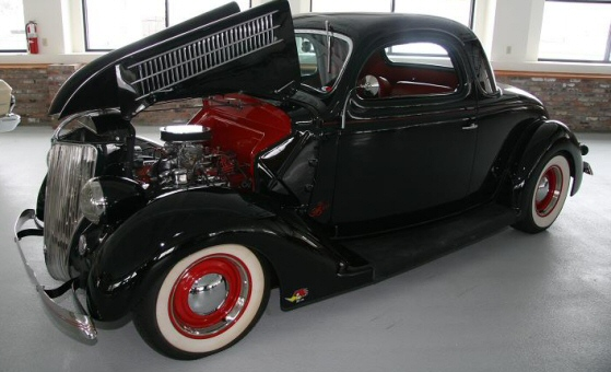 Ford Coupe 1936 photo - 4