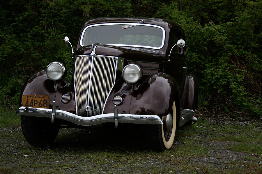 Ford Coupe 1936 photo - 7