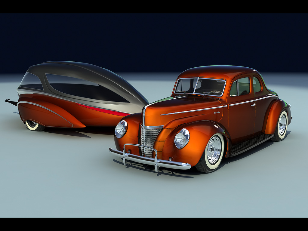 Ford coupe 1942 photo - 6