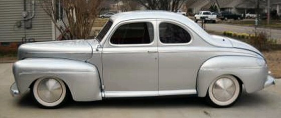 Ford coupe 1946 photo - 10