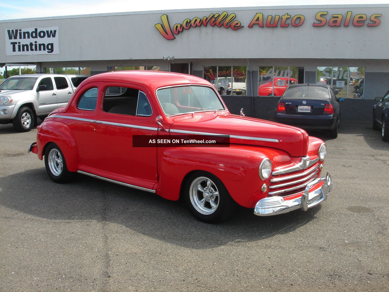 Ford coupe 1947 photo - 4