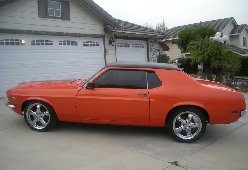 Ford coupe 1970 photo - 3