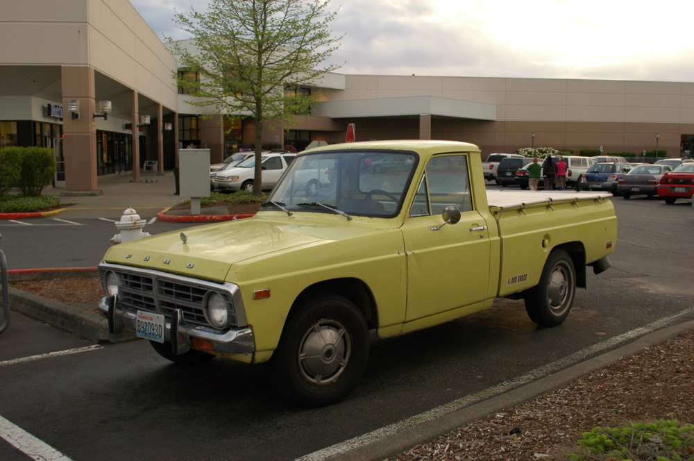 Ford courier 1974 photo - 5