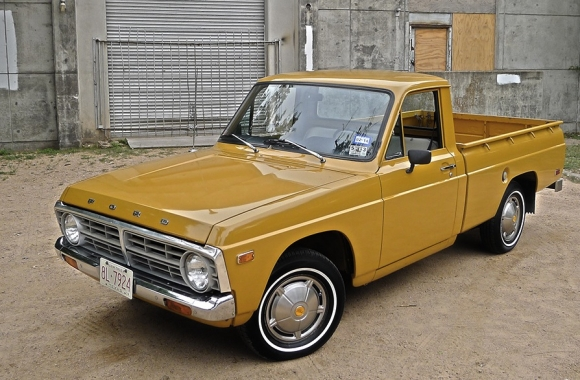 Ford courier 1974 photo - 7