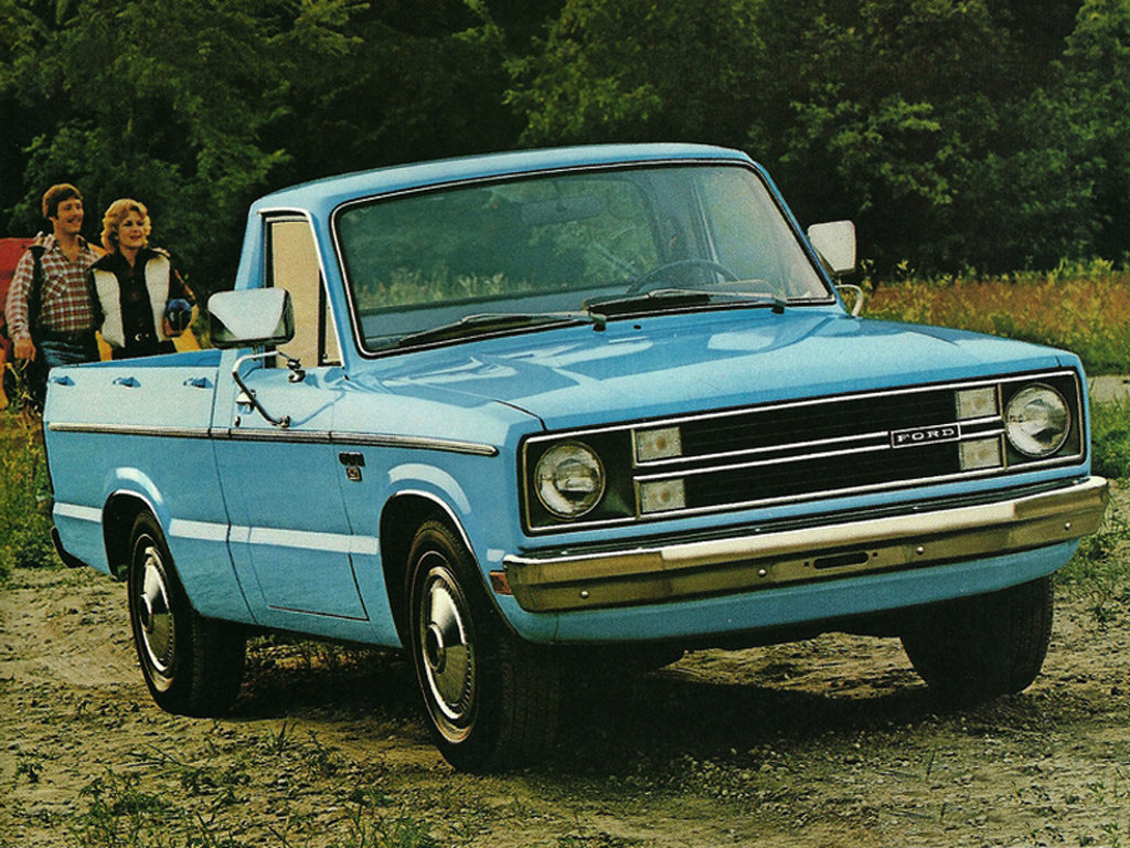 Ford courier 1982 photo - 2