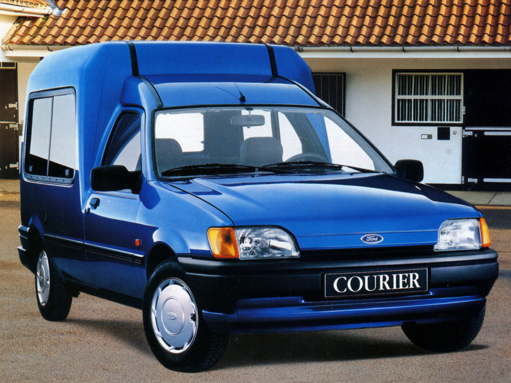 Ford courier 1990 photo - 2