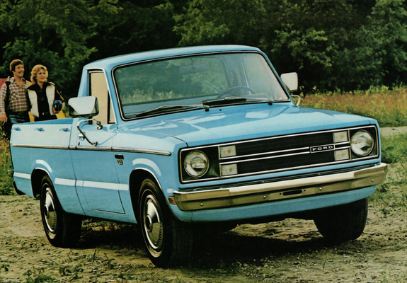 Ford courier 1990 photo - 8