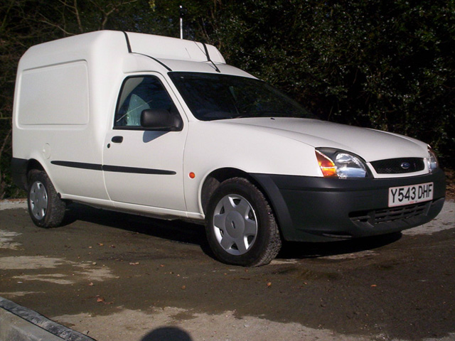 Ford courier 1998 photo - 5