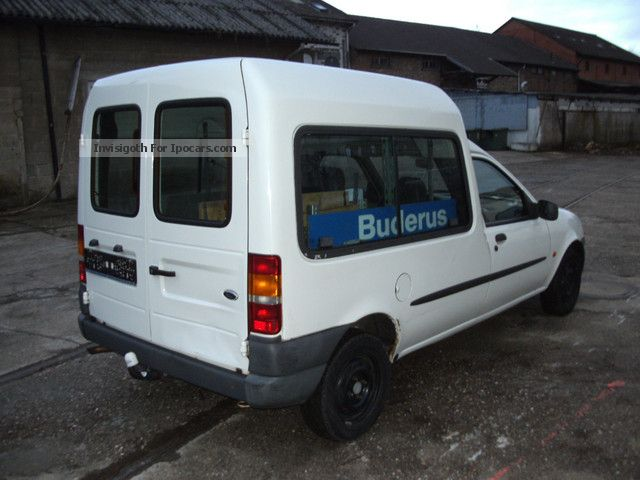 Ford courier 2001 photo - 4