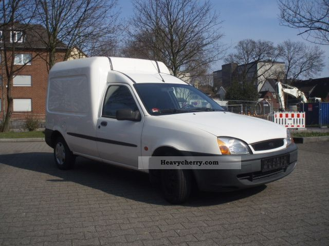 Ford courier 2002 photo - 3