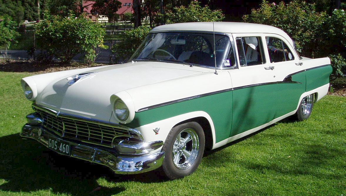 Ford customline 1955 photo - 9