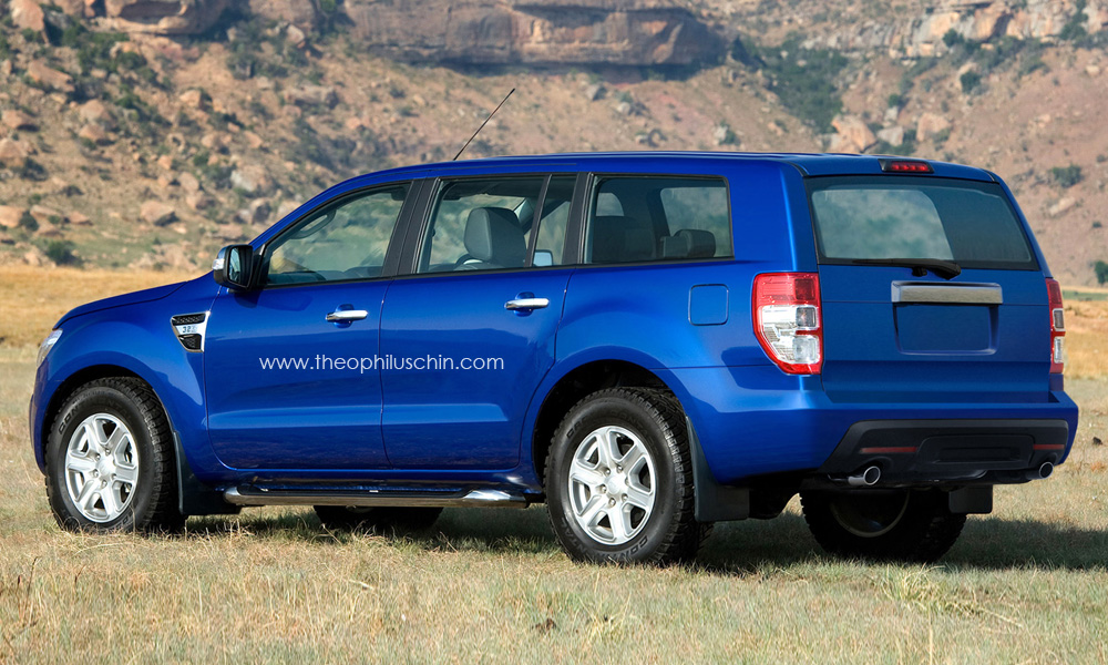 Ford endeavour 2013 photo - 2