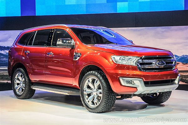 Ford Everest 2015 Photo