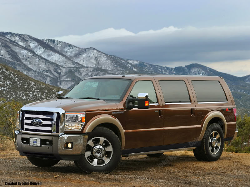 Ford excursion 2010 photo - 1