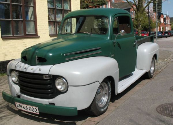 Ford f-100 1950 photo - 7