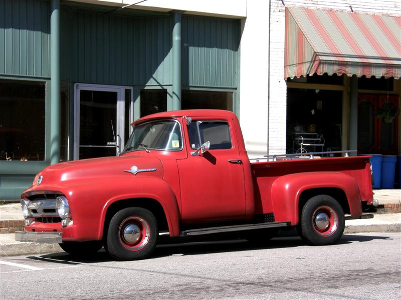 Ford f-100 1955 photo - 6