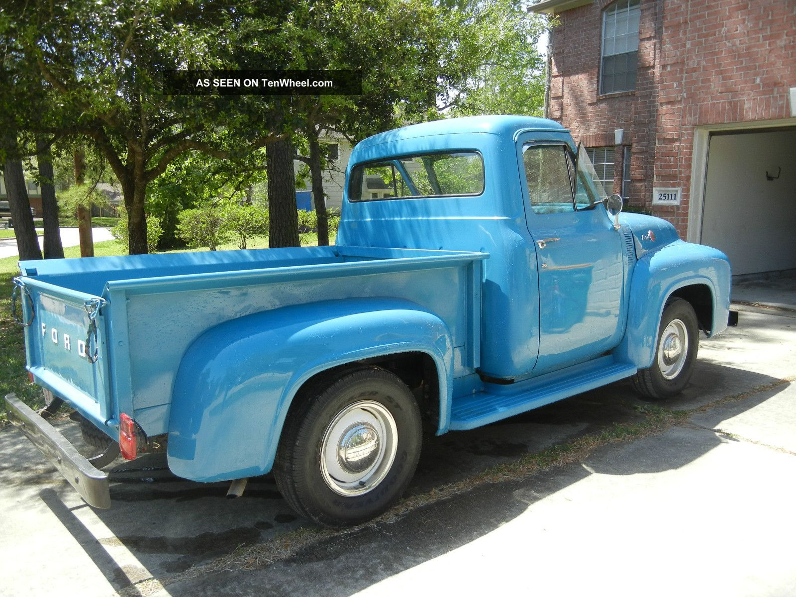 Ford f-100 1955 photo - 7