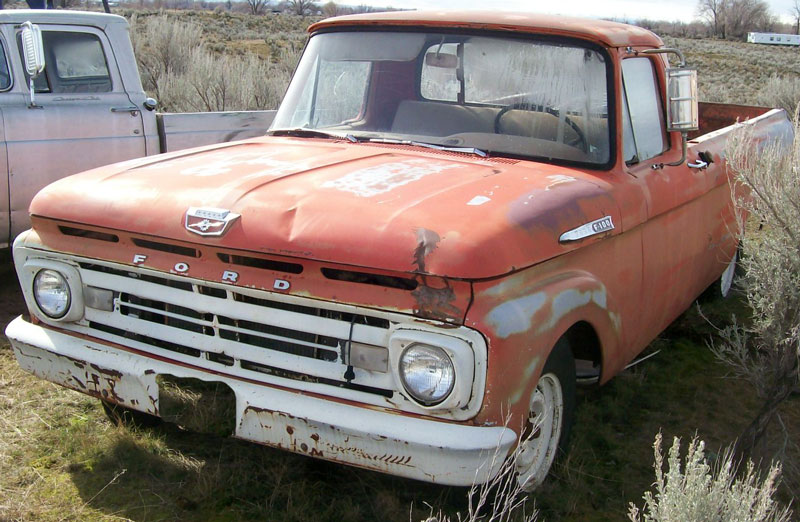 Ford f-100 1962 photo - 4