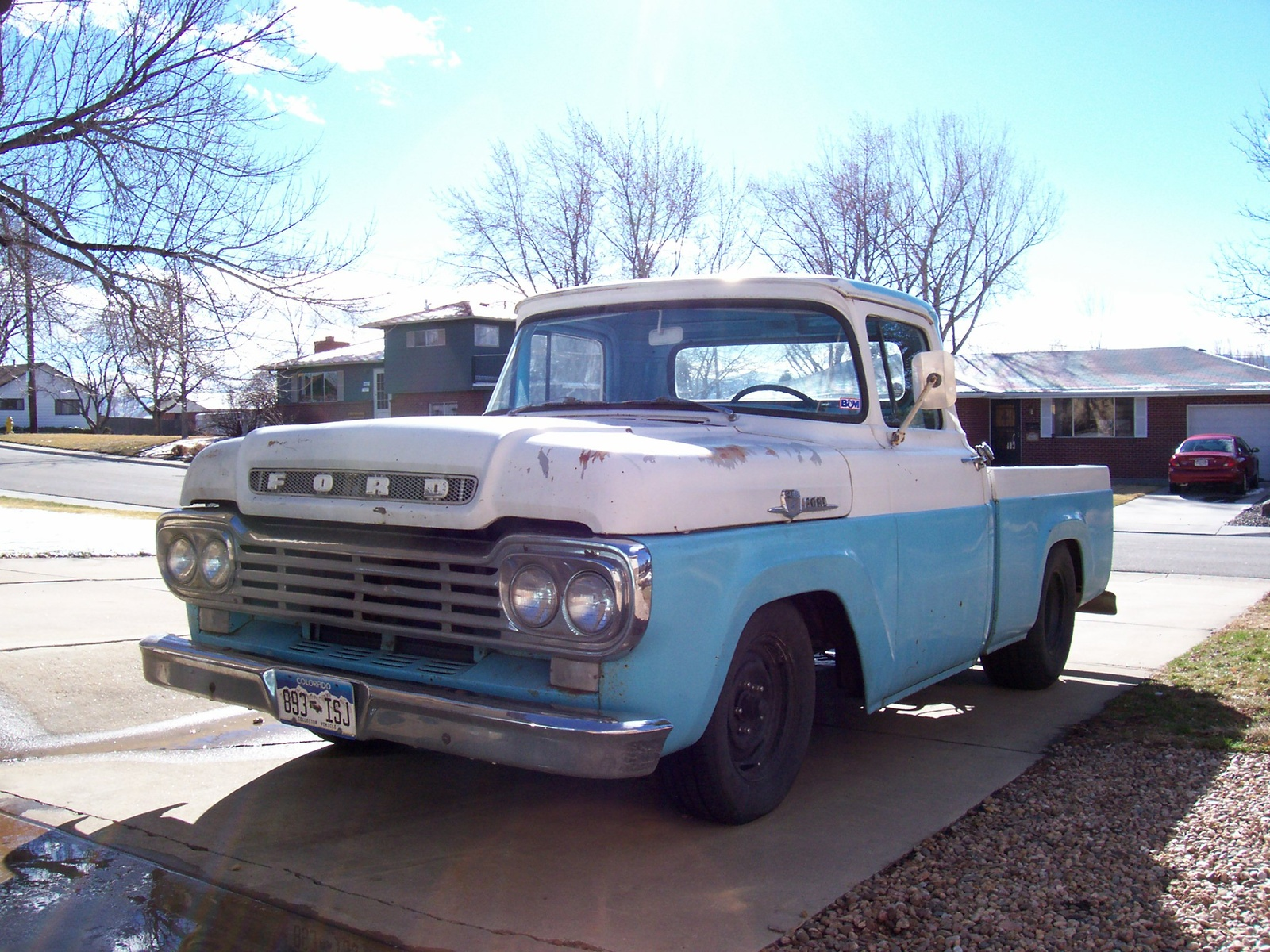 Ford f-100 1962 photo - 6