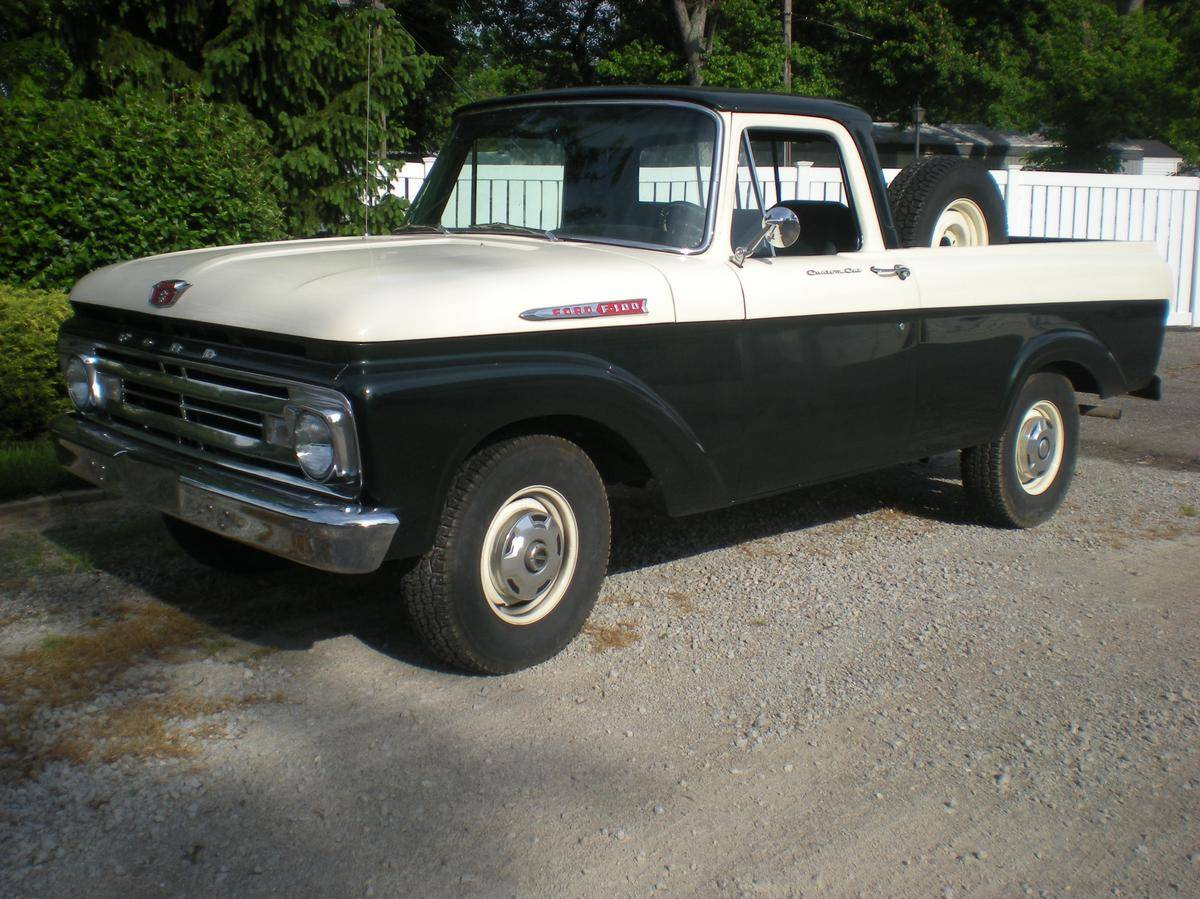 Ford f-100 1962 photo - 7