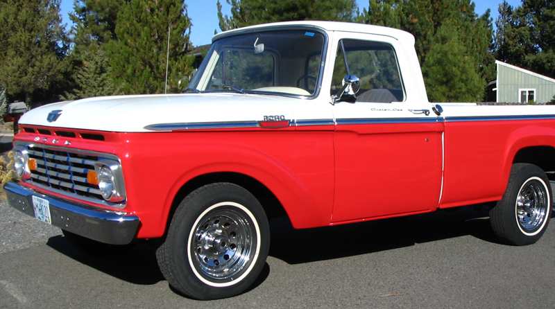 Ford f-100 1963 photo - 1
