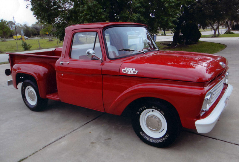Ford f-100 1963 photo - 5