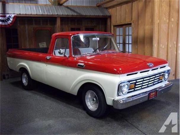 Ford f-100 1963 photo - 8