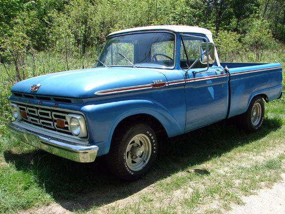 Ford f-100 1964 photo - 10