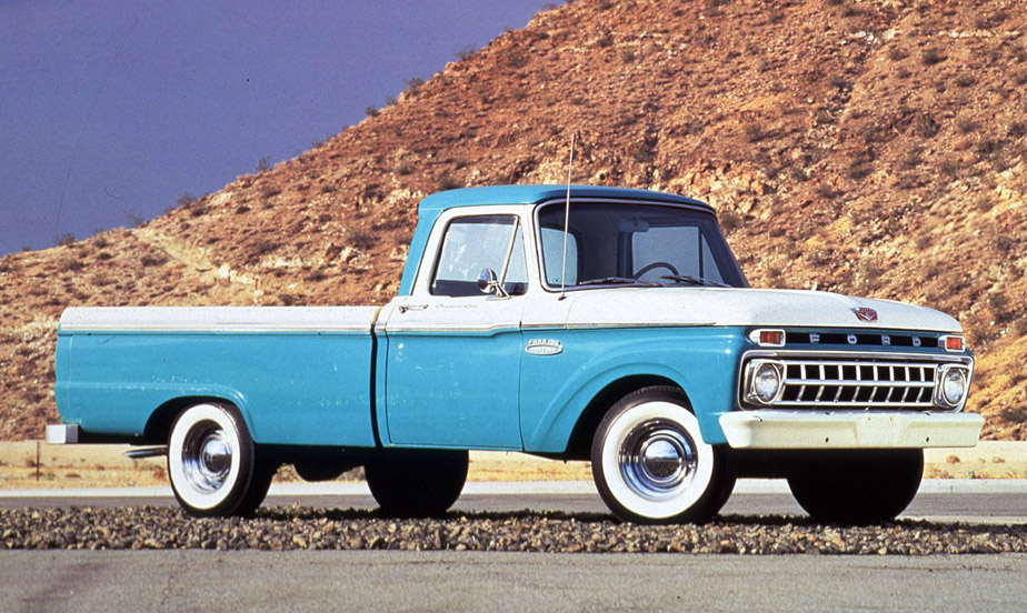 Ford f-100 1964 photo - 3