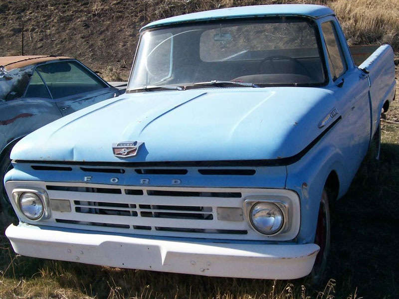 Ford f-100 1964 photo - 4